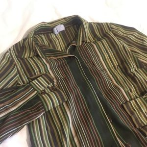 Vintage Old Navy Collared Button up Blouse